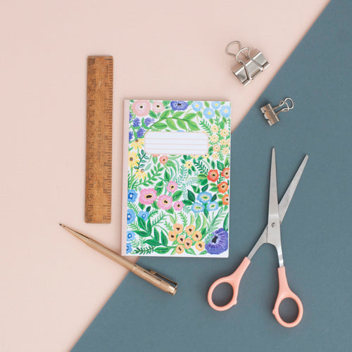 Wildflowers Print A6 Pocket Notebook