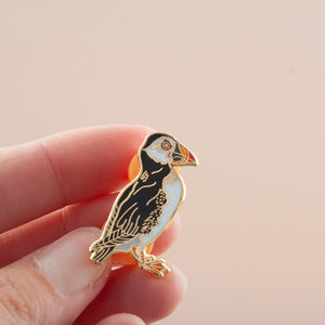 Puffin Hard Enamel Pin Badge