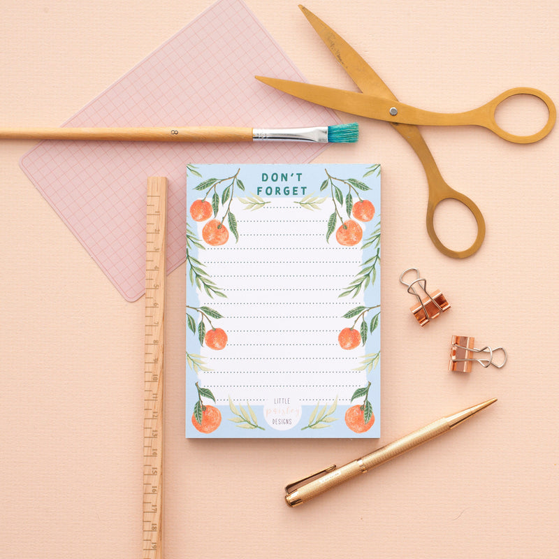 Clementine 'Don't Forget' To Do List Notepad