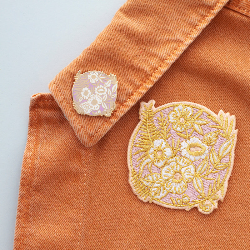 Patch & Pin Deal - Matching Pin and Embroidered Patch
