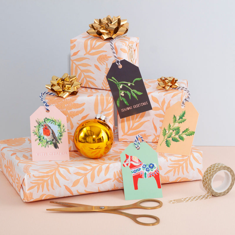 Robin Christmas Gift Tag - Pack of 5