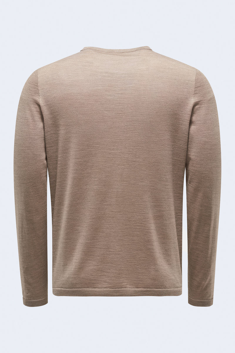 The Ultimate Crew Sweater in Camel