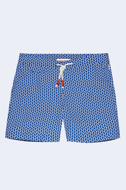 Standard Castell Swim Shorts in Skydiver Cloud