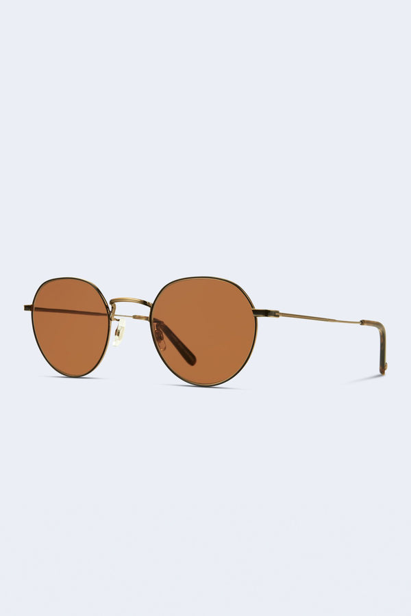 Robson Sunglasses in Brushed Gold Tortoise