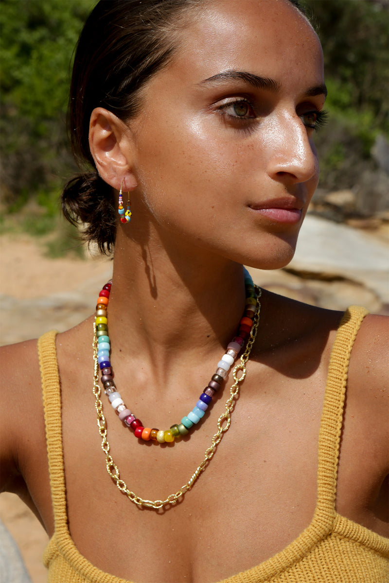 Big Nuanua Necklace in Rainbow