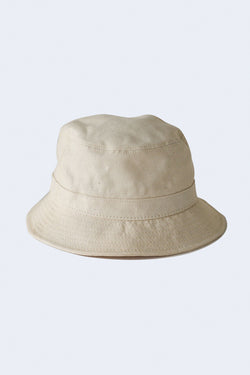 Organic Canvas Bucket Hat in Natural