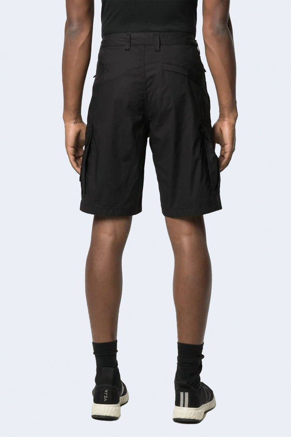 Shorts with Side Pockets in Black