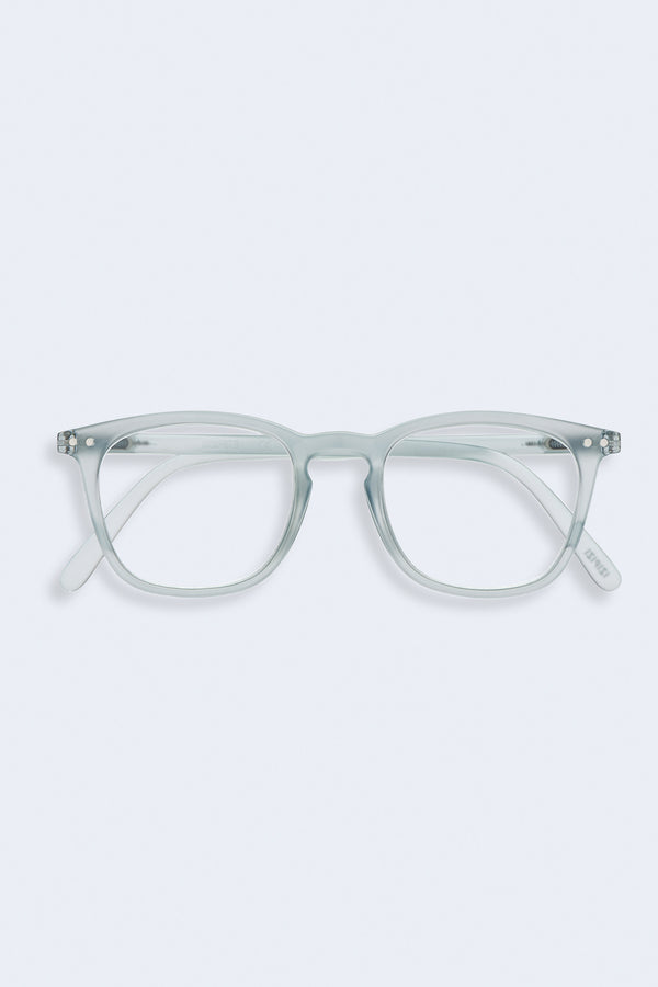 Reading Glasses #E Frosted Blue