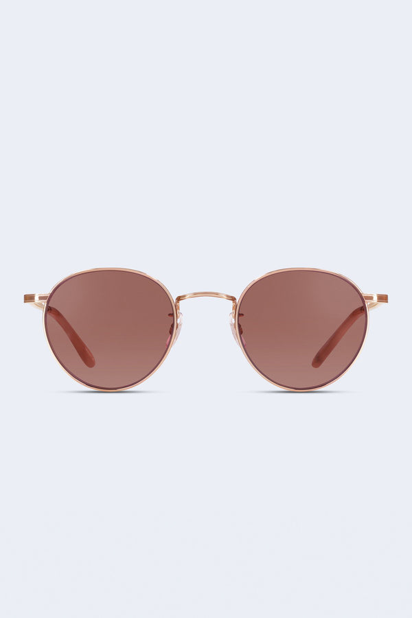 Wilson Sunglasses in Rose Gold Peach