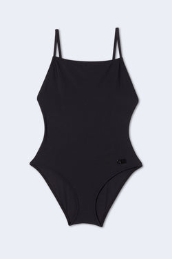 The Jacqueline One Piece in Black