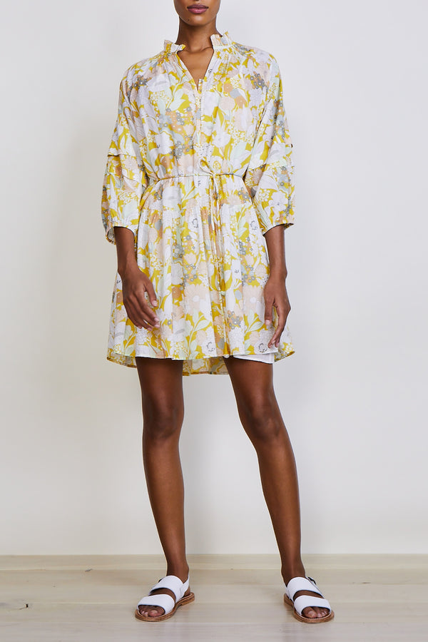 Laguna Mini Dress in Day Arte Floral