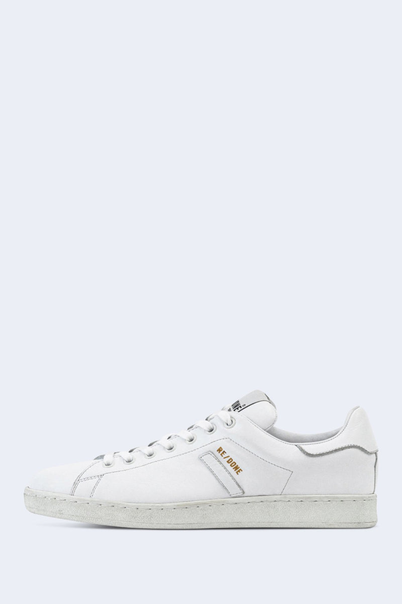 70s Tennis Shoes in White