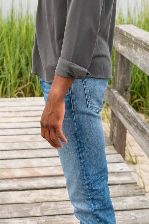Men's Slim Fit Jean in Light