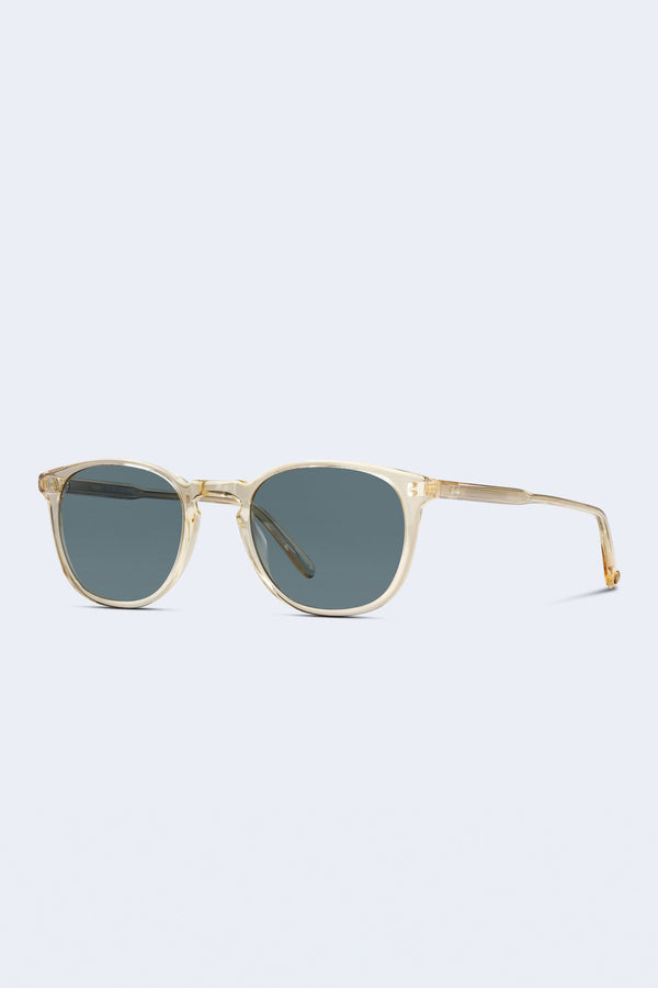 Kinney Sunglasses in Champagne Blue Smoke Polar