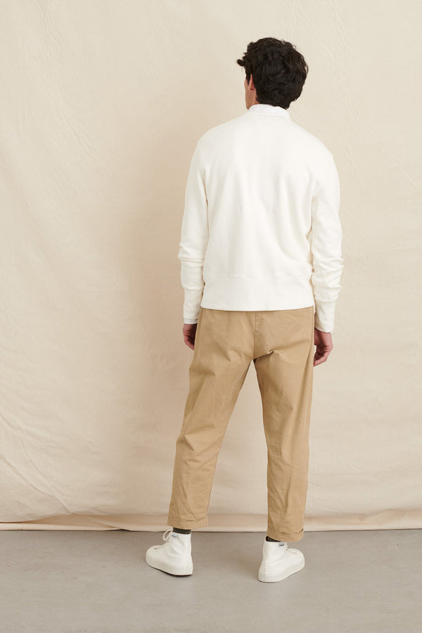 Men's Crewneck Sweatshirt in Natural