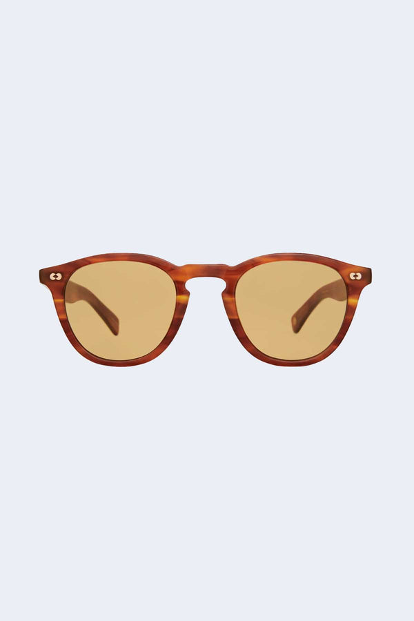 Hampton X Honey Amber Tortoise Pure Maple Sunglasses