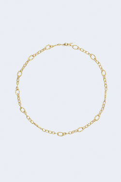 Unchain Me Necklace in Gold