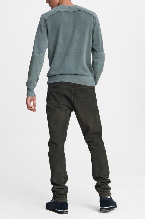 Men's Slim Fit 2 Mid Rise Jean in Dark Moss