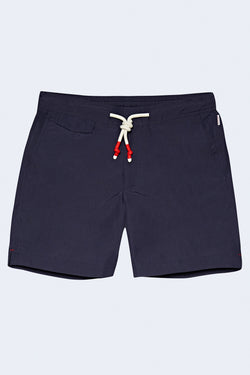 Standard Mid-Length Swim Shorts in Navy