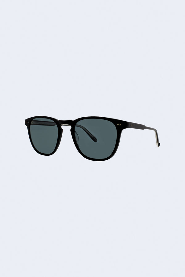 Brooks Blue Smoke Polar Sunglasses in Matte Black