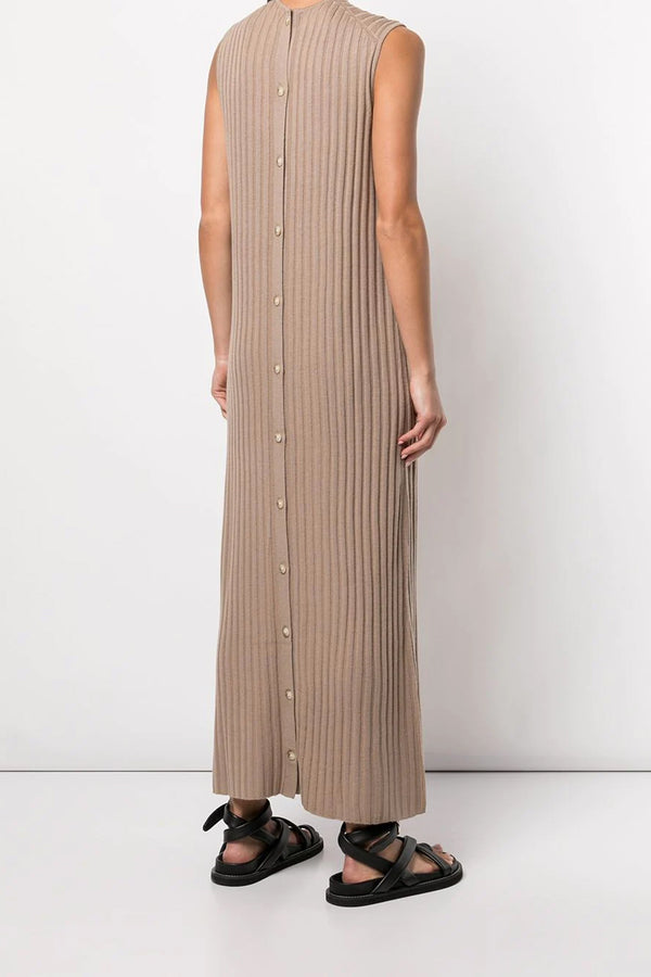 Andrott Dress in Mocha Melange