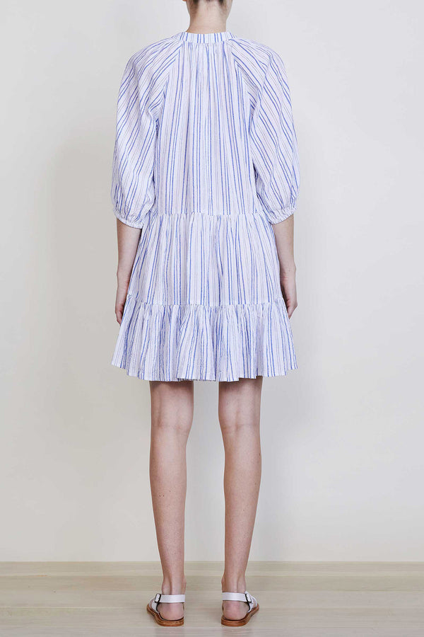 Mini Mitte Cotton Dress in Stripes