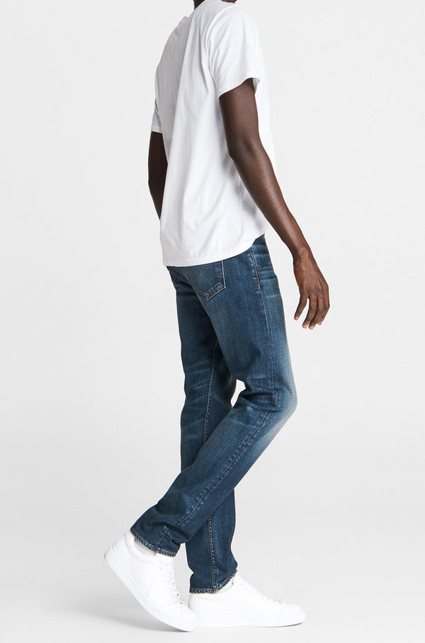 Men's Slim Fit 2 Mid Indigo Jean in Dusty Trail