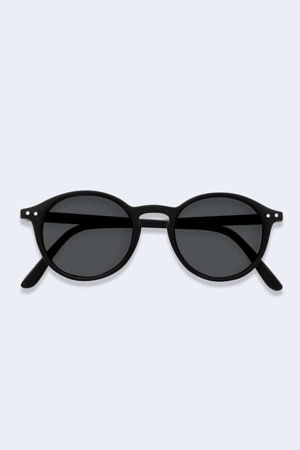 Junior Sunglasses #D Black Soft Grey Lenses
