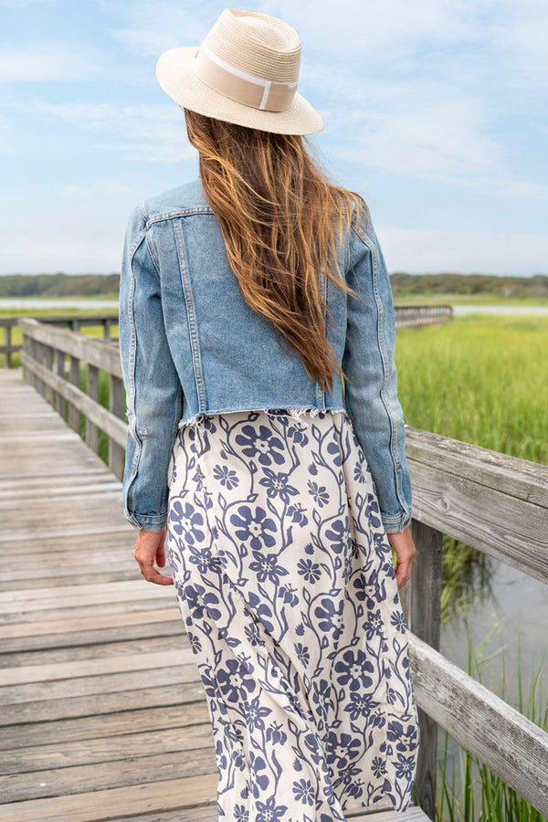 Cara Denim Jacket in Mary Jane
