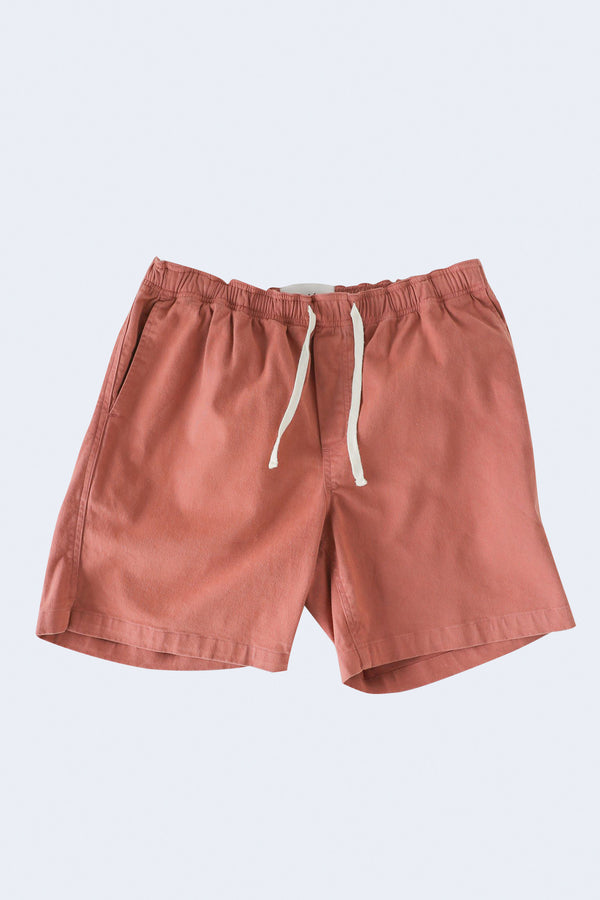Drawstring Shorts in Dusty Rose