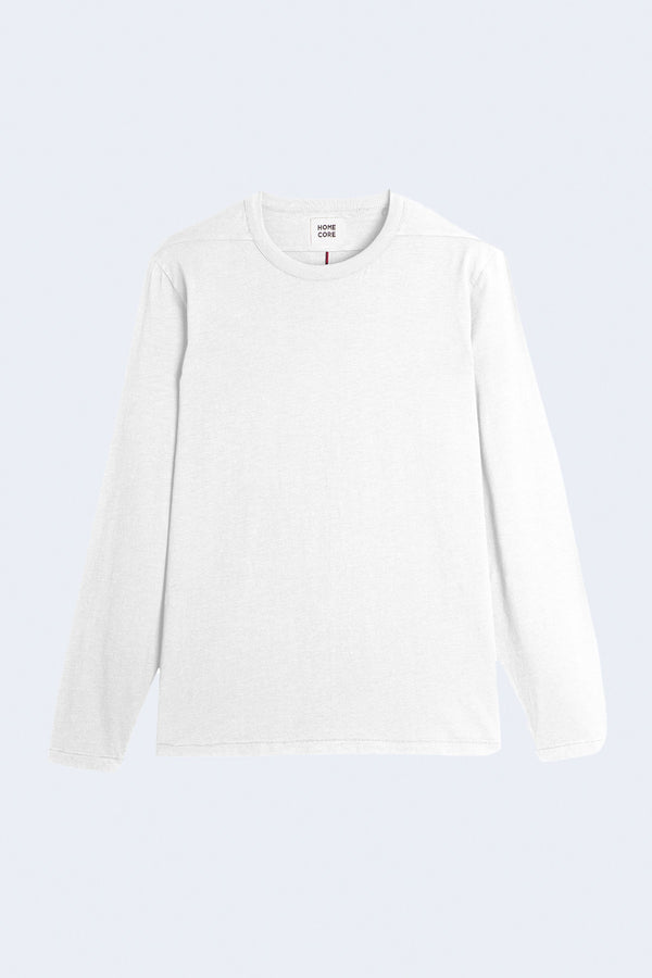 Max Bio Long Sleeve T-Shirt in White