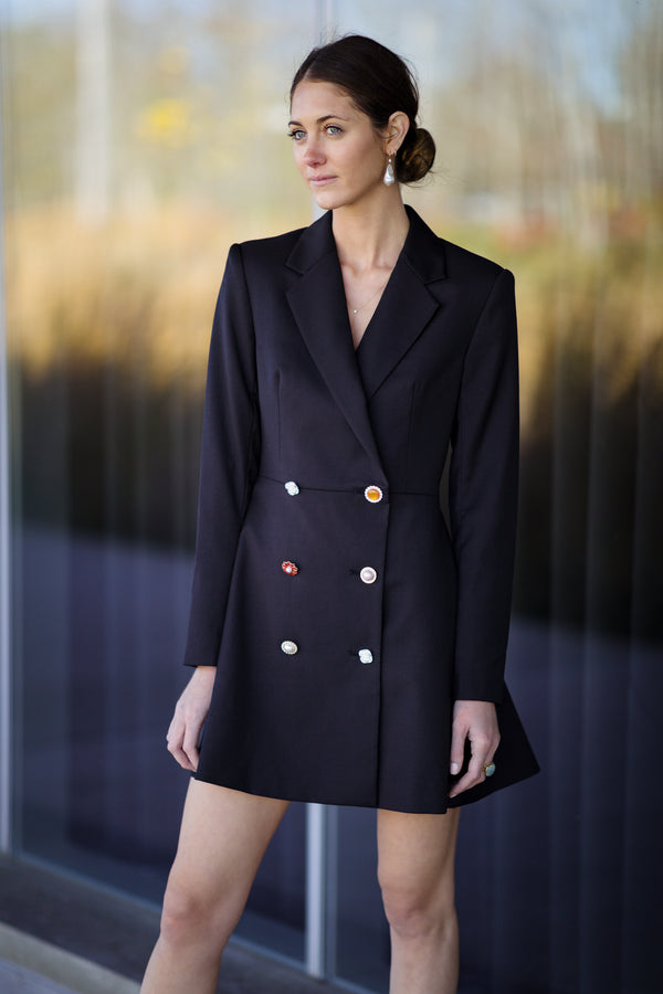 Number 23 Plain Blazer Dress