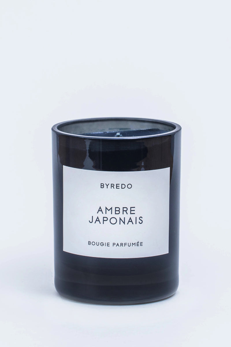 Ambre Japonais Fragrance Candle on white background