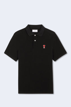 Ami De Coeur Polo in Black