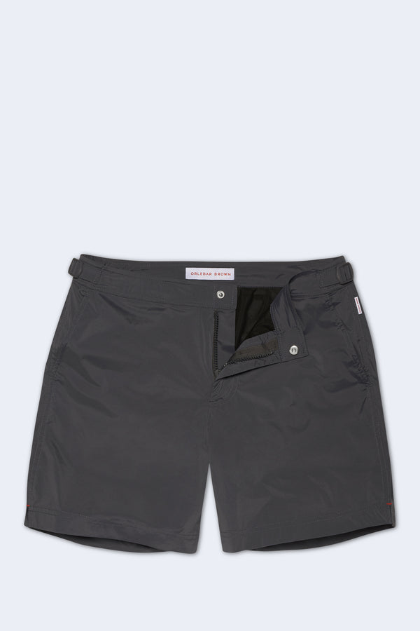 Bulldog Sport Swim Short in Ebony
