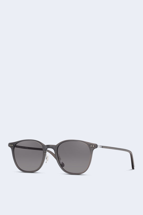 Beach Sun Sunglasses in Matte Grey-Crystal