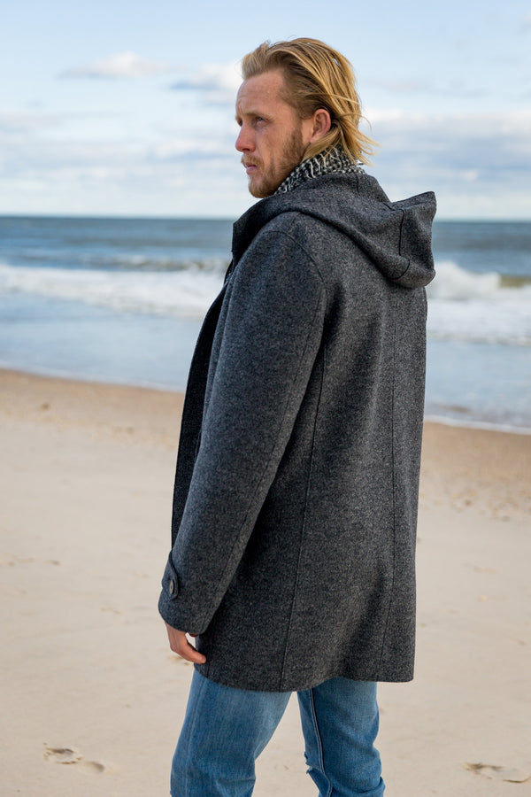 Long Parka Wool Coat