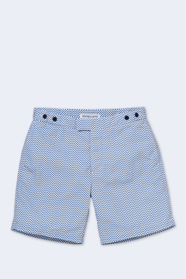 Classic Copacabana Swim Short in Navy Blue
