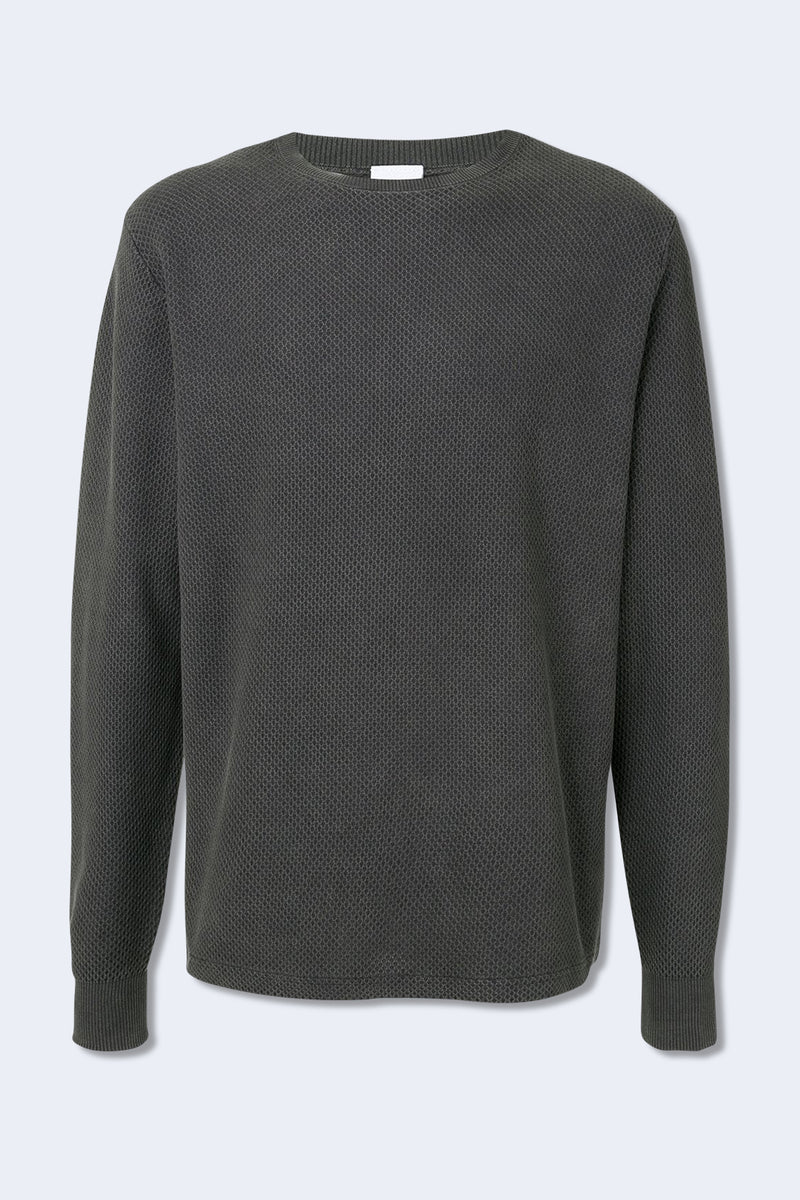 Cotton Thermal in Dark Grey