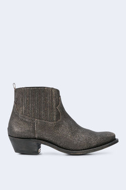 Women's Crosby Black Gold Glitter Boots