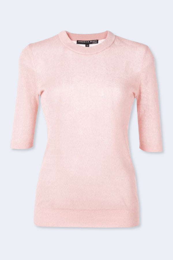 Dean Sweater in Light Pink
