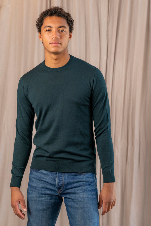 Stanislas Sweater in Dark Green