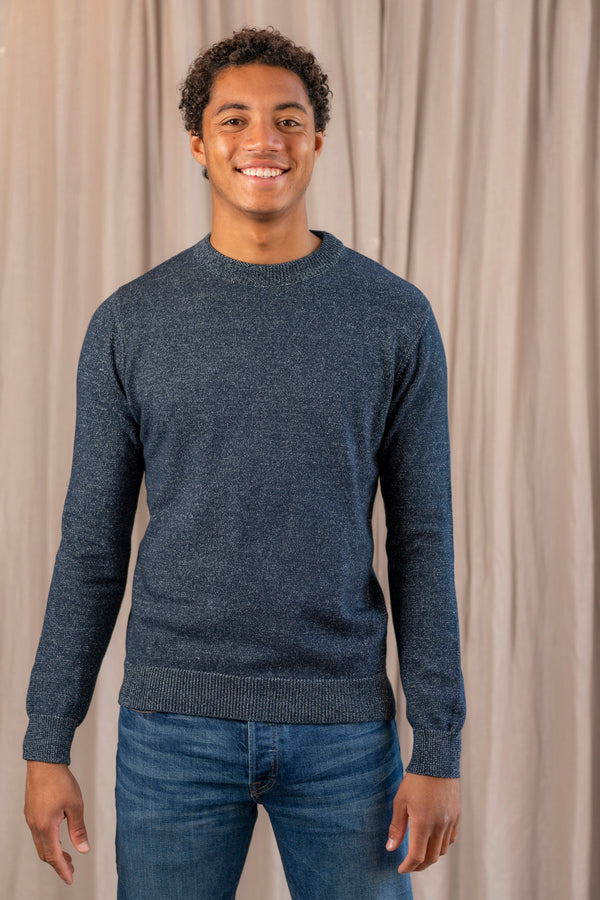 Portobello Sweater in Navy