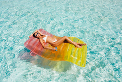 Clear Rainbow Chaise Lounger