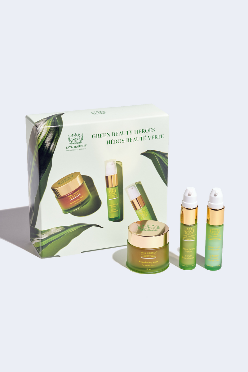 Green Beauty Heroes Set