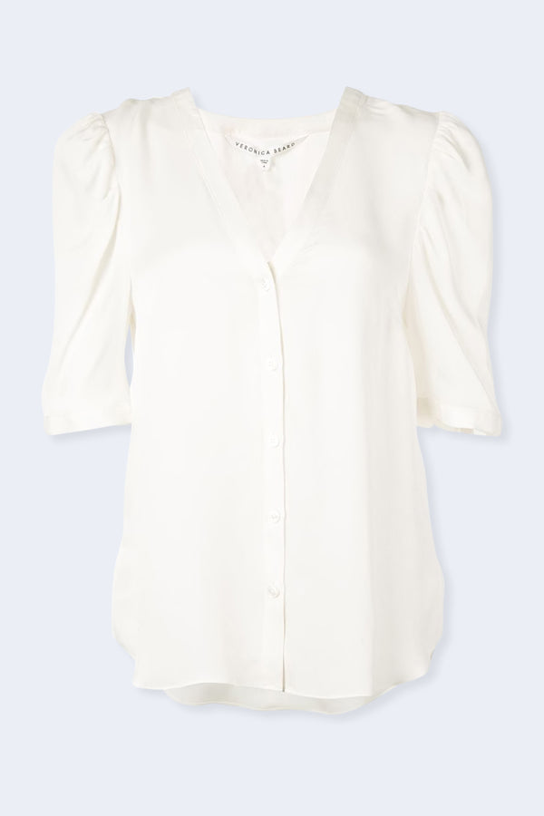 Garland Blouse in Off White