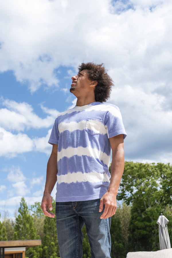 Fons Hand Dyed Stripes Tee