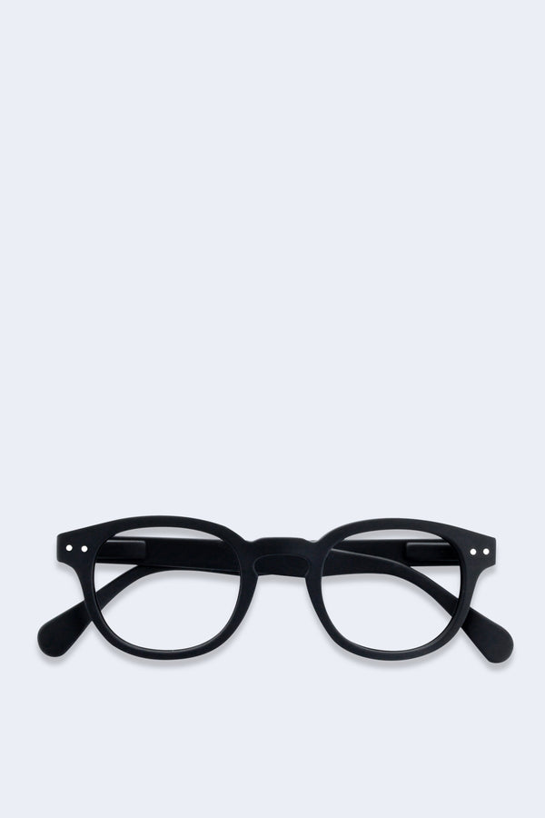 Reading Glasses #C Black Soft
