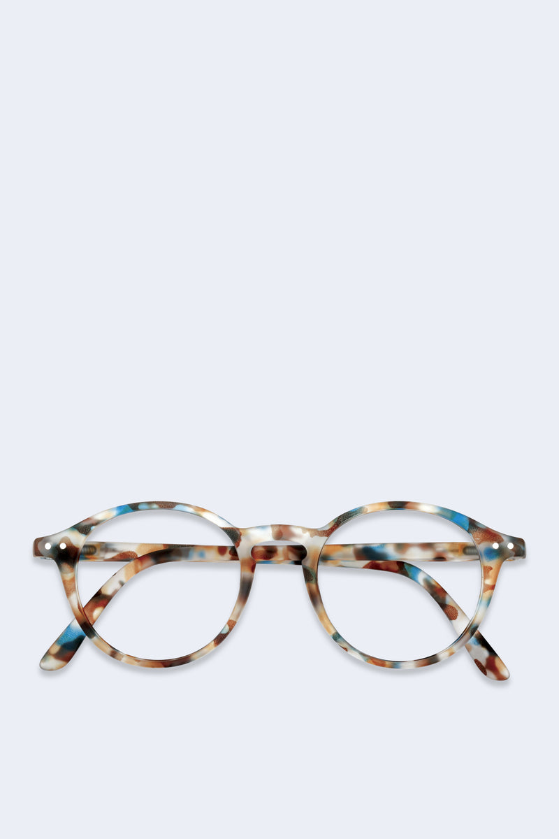 Reading Glasses #D Blue Tortoise
