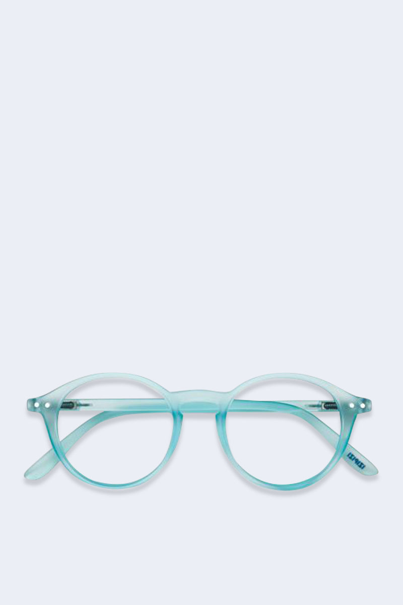 Reading Glasses #D Light Azure